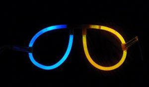 Knicklicht Brille