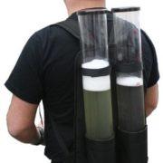 Festival Gadgets Bierrucksack Getränkerucksack 2 x 3 Liter