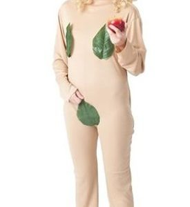 Eva Kostüm bestehend aus hautfarbenem Ganzkörperanzug