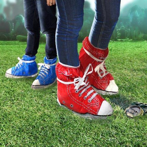 Festival Gadgets Schuhüberzieher für Festival im Converse Chuck Style