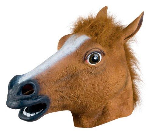 Festival Gadgets Pferde Maske Pferdemaske lustig