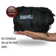 Mivall ultraleicht Sommerschlafsack Hüttenschlafsack