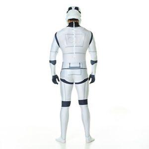 Star Wars Stormtrooper Kostüm für Festivals Ansicht hinten