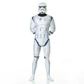 Star Wars Stormtrooper Kostüm für Festivals Ansicht vorn