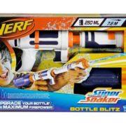 Festival Gadgets Super Soaker Bottle Blitz Wasserpistole Spritzpistole Verpackung