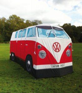 Festival Gadgets VW Bulli Zelt vorn