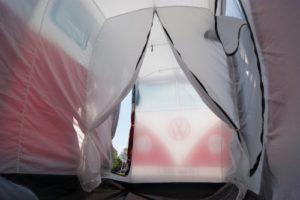 VW Bus Zelt innen