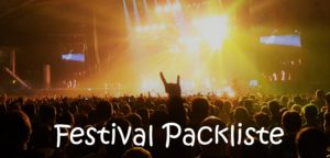 Festival Gadgets Packliste