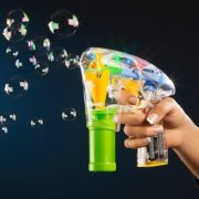 Seifenblasenpistole mit LEDs inkl. 2x Seifenblasenlösung