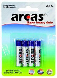 Batterien für Leuchtpanel des LED Equalizer T-Shirts