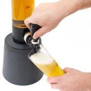 3,5 Liter Trinksäule Biersäule Biertower Party Bier Zapfsäule mit Zapfhahn