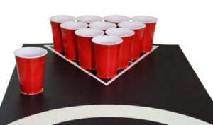 Beer Pong Matten Set