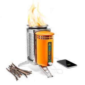 Biolite Campingkocher und USB Ladegerät Technikgadget