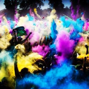 Holi Festival Pulver