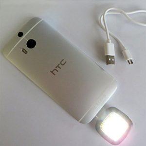Smartphone LED Blitz für Selfie