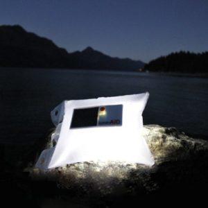 LuminAID Solarbetriebene aufblasbare Lampe
