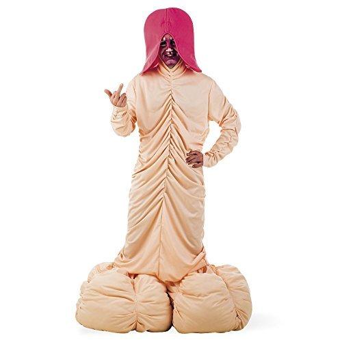 Riesen Penis Kostüm mit Zubehör