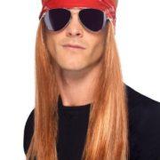 90er Jahrer Rocker Perücke