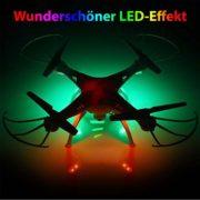 X5SC-1 Explorers 2 Pro HD-Quadrocopter Drohne mit HD Kamera, Zusatzakku und Crash-Kit