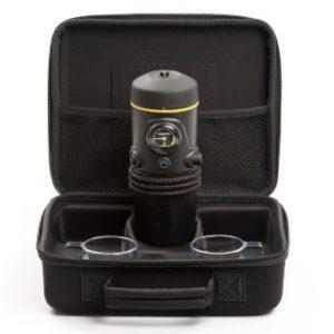 Handpresso Auto ESE 12V schwarz Premium Set mit Case, Tassen