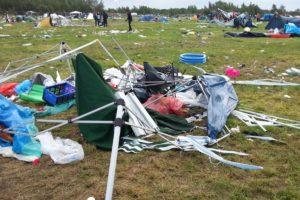 Highfield Festival Müll
