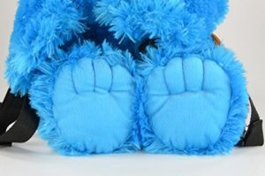 Sesamstraße Krümelmonster Rucksack Füße