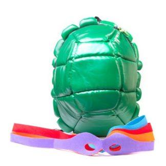 Turtles Rucksack mit 4 Augenbinden
