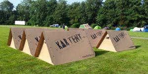 KarTent Festivalzelt aus Pappe