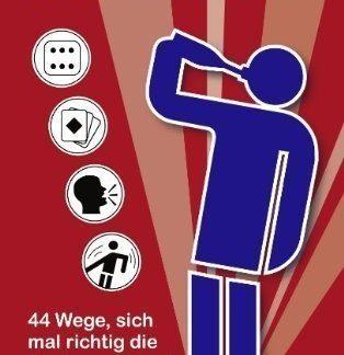Taschenbuch Trinkspiele: 44 Wege, sich mal richtig die Kante zu geben!