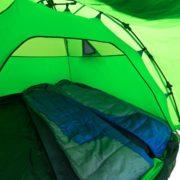 Festival Gadgets Qeedo - Quick Pine 3 Sekundenzelt Innenansicht