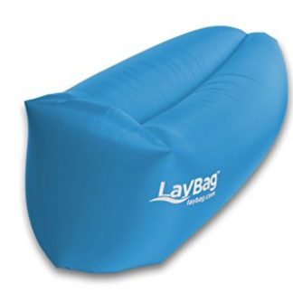 Festival Gadgets Sitzsack LayBag ChillBag Lamzac in Farbe blau