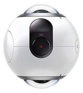Festival Gadgets Samsung Gear 360 Action cam front