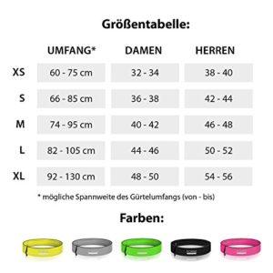 Festival-Gadgets-FORMBELT-Bauchtasche-Laufgürtel-Hüfttasche-Gürteltasche-für-Handy-Smartphone-Schlüssel-Running-Belt-Sport-Jogging-Fitness-Gürtel-Iphone-5-6-6s-7-plus-Samsung-Galaxy-Gel-Größentabelle