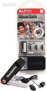 Verpackung mit Box Alpine Music Safe Pro Gehörschutz Set mit 3 austauschbaren Filtern
