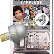 Silber Alpine Music Safe Pro Gehörschutz Set mit 3 austauschbaren Filtern