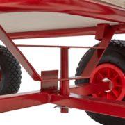 Bollerwagen Handwagen Transportwagen Handkarren mit Luftbereifung Deichsel