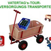 Bollerwagen Handwagen Transportwagen Handkarren mit Luftbereifung Einsatzgebiete