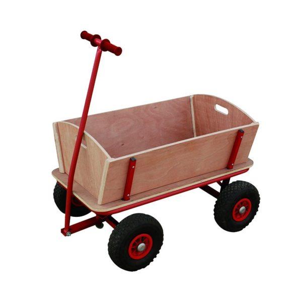 Bollerwagen Handwagen Transportwagen Handkarren mit Luftbereifung Gesamtansicht