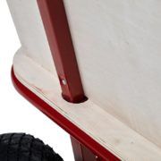 Bollerwagen Handwagen Transportwagen Handkarren mit Luftbereifung Metallgestell